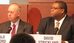 NHTSA Administrator David Strickland and Deputy Administrator Ron Medford